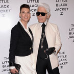 Karl Lagerfeld launches Chanel's Little Black Jacket