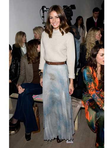 Olivia Palermo's maxi skirt