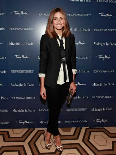 Olivia Palermo's Androgynous look