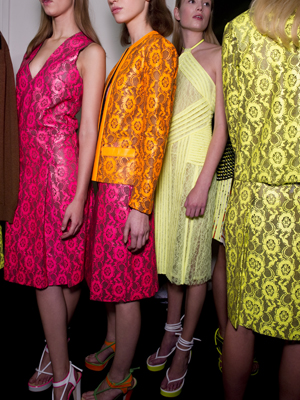 Christopher Kane A/W 2011 at London Fashion Week