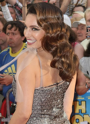 Celebrity retro waves hairstyles