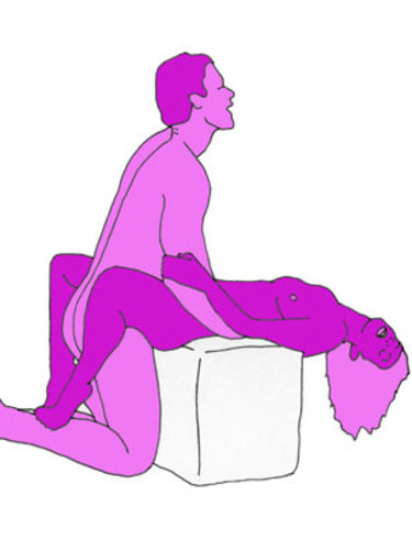 The kitchen quickie sex position