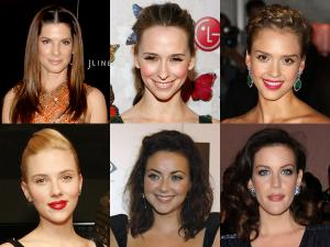 Celebrity face shapes...