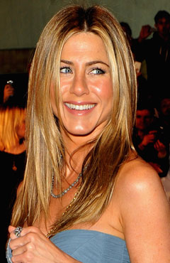 A-list beauty bag - Jennifer Aniston