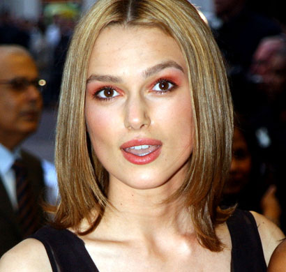 Changing look - Keira Knightley