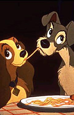 7. Lady And The Tramp