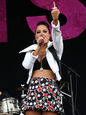 Tulisa Wireless Festival 08/07/2012