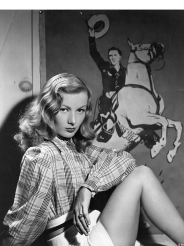Veronica Lake's hair
