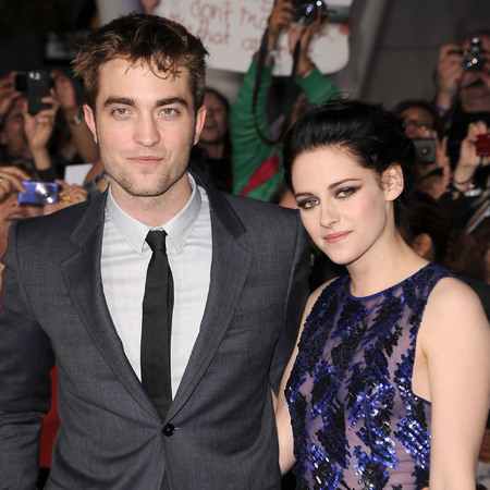 Kristen Stewart and Robert Pattinson Twilight premiere