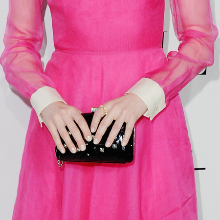 Emma Stone in Valentino at Elle Women In Hollywood 2012