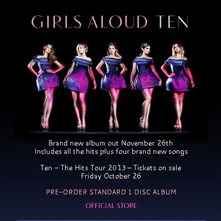Girls Aloud TEN promo