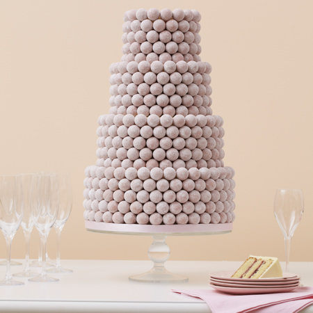 Peggy Porschen truffle wedding cake