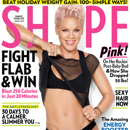 Pink Shape magazine cover