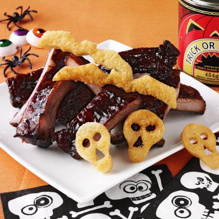 Trick or Treacle ribs Halloween