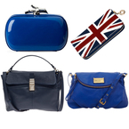 BAG TREND: Bright blues and rich navy