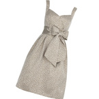 Bridesmaid Boutique: M&S gold bow dress