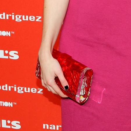 Emma Roberts Edie Parker clutch