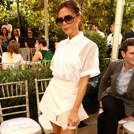 Victoria Beckham at Vogue Fashion Fund event Oct 2012