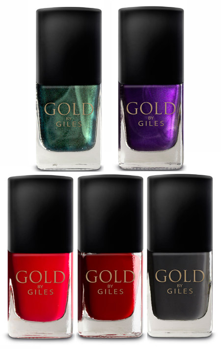 Gold by Giles nail polish for New Look