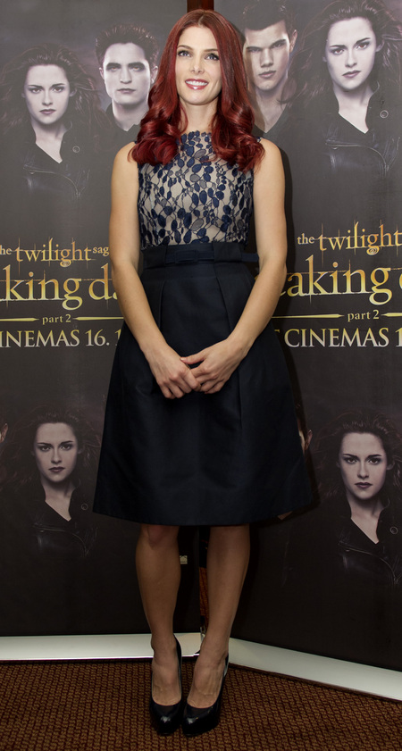 Ashley Greene joins Kristen Stewart on Twilight promo tour