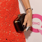 SPOTTED! Nicole Richie's House of Harlow 1960 clutch