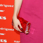SPOTTED! Emma Roberts' Edie Parker clutch