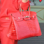 SPOTTED! Jennifer Lopez's red Birkin bag