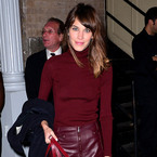 Yay or nay: Alexa Chung's deep berry hues