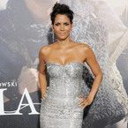 Halle Berry turns silver siren in Dolce & Gabbana dress