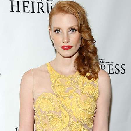 "Jessica Chastain at ""The Heiress"" Broadway Revival Opening Night"