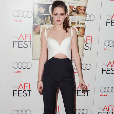 Kristen Stewart in Balenciaga at On The Rod AFI Fest 2012