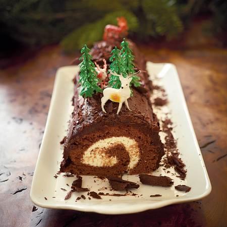 Pippa Middleton's chocolate yule log