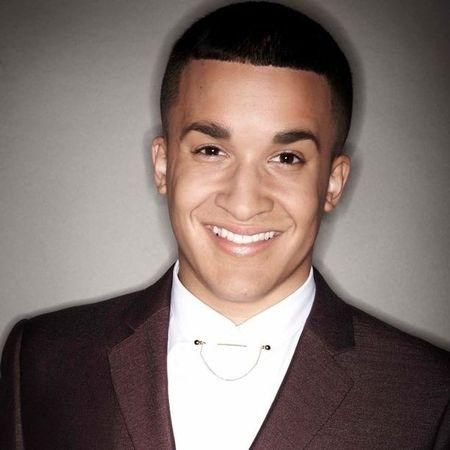 Jahmene Douglass X Factor promo shot