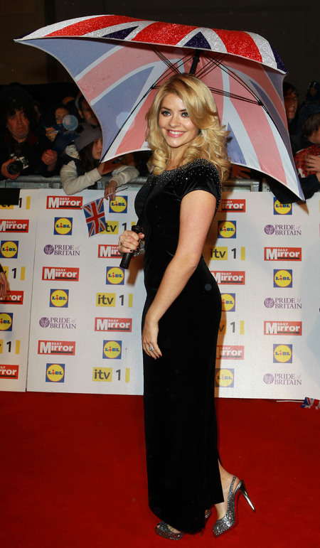 Holly Willoughby vamps up in Project D dress at Pride of Britain Awards