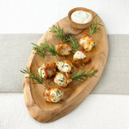Impress your guests with monkfish canapés
