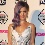 Kelly Osbourne does silver floral prints