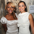 Jessica Ennis and Alexandra Burke match make-up