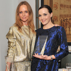 Victoria Pendleton & Stella McCartney match outfits