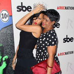 SHOP! Rihanna's mum wears Topshop midi dress