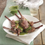 Welsh Lamb Cutlets with Salsa Verde