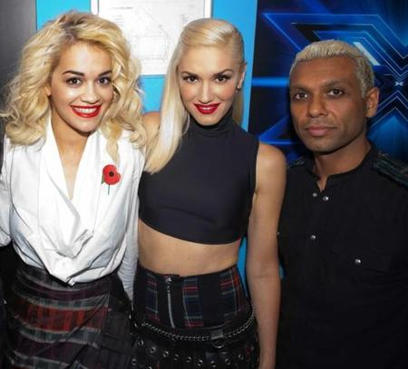 Gwen Stefani's sleeveless crop top