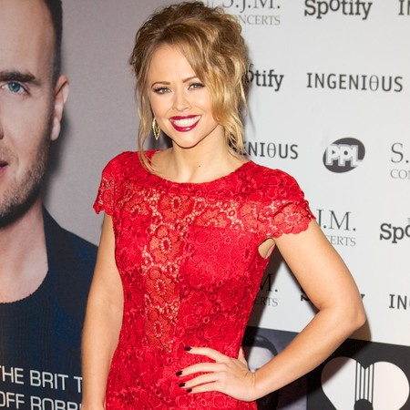 Kimberley Walsh at Music Industry Trust awards