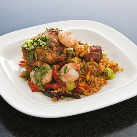Andy's jambalaya food network