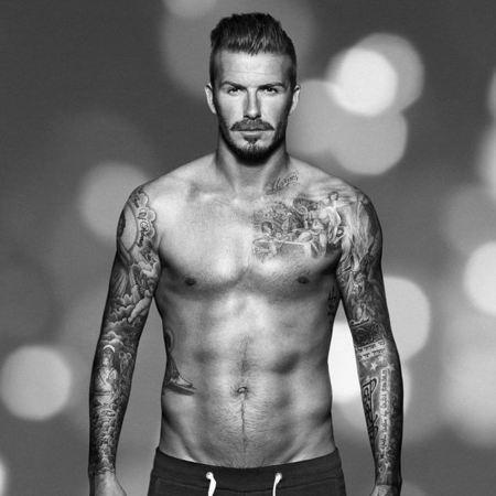 FIRST LOOK! David Beckham's new H&M pics