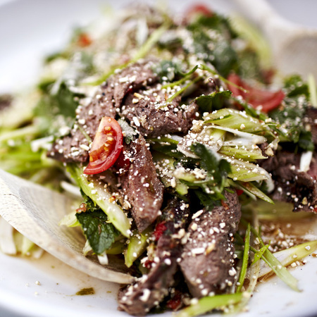 Thai beef salad movember