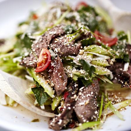 Thai beef salad movember