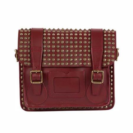 BAG LOVE: Dr Martens studded satchel