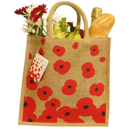 Poppy Appeal jute bag 2012