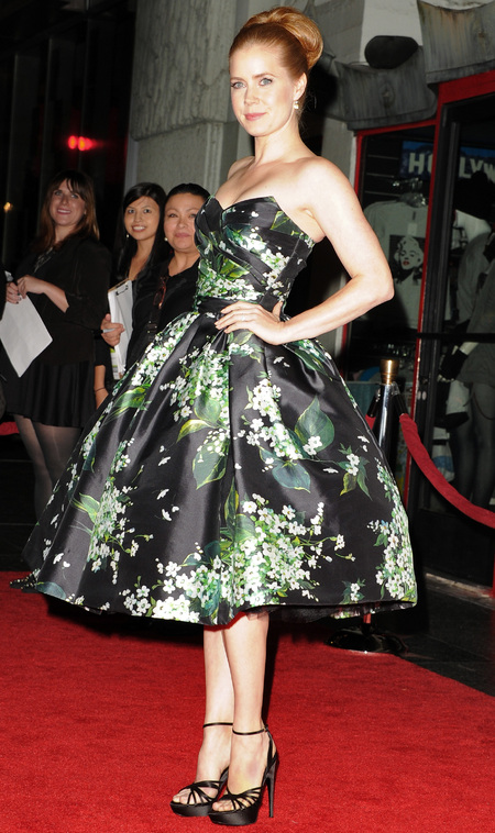 Amy Adams at AFI Fest premiere of On The Road in Dolce & Gabbana