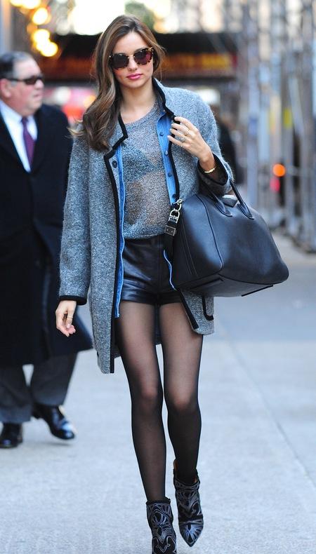 Miranda Kerr and her Givenchy Antigona bag